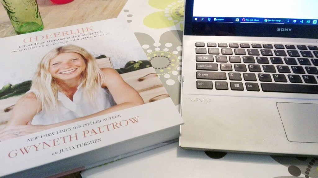 "Cookbook ""IT'S ALL GOOD"" by Gwyneth Paltrow and Julia Turshen"