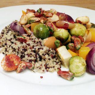 Quinoa Salad with Roasted Veggies