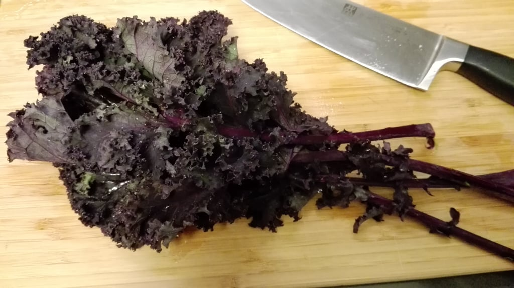 Purple Kale - So beautiful