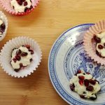 Pomegranate and White Chocolate Treats