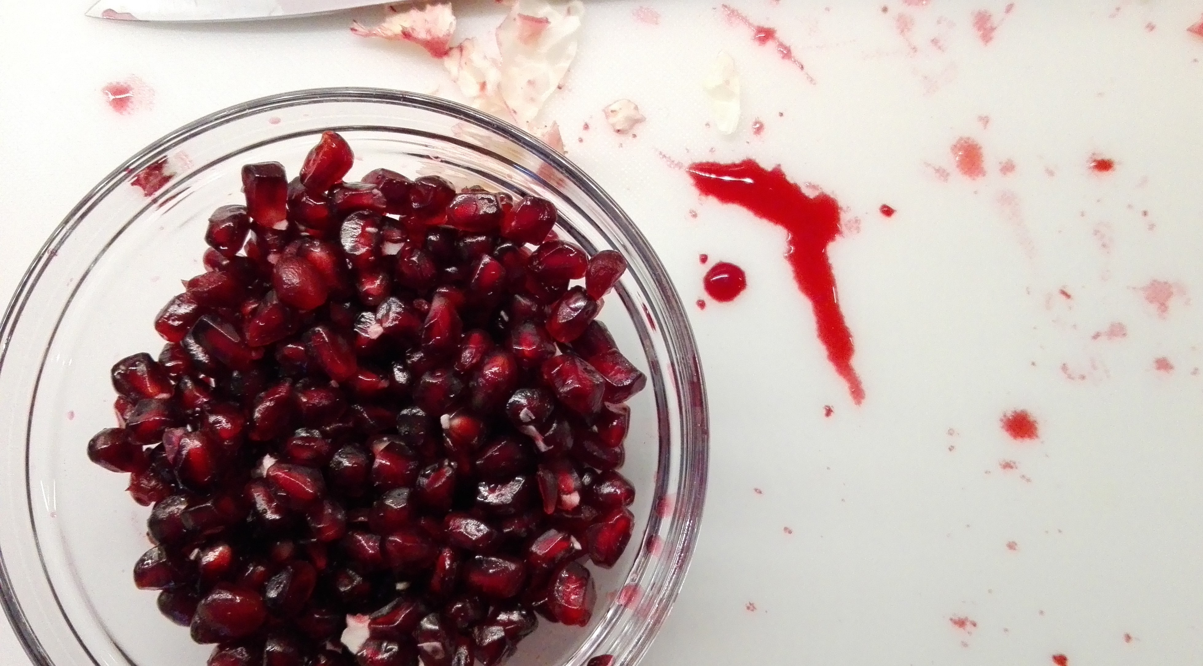 Pomegranate - is there anything more beautiful?