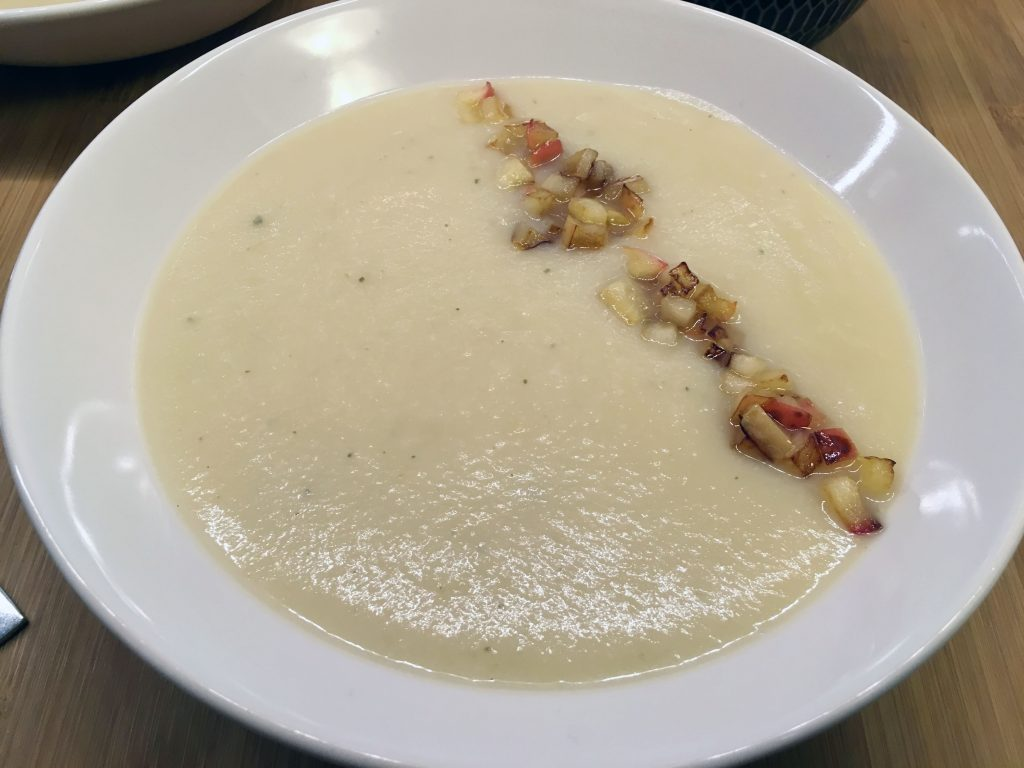 Low Histamine Parsnip and Apple Soup