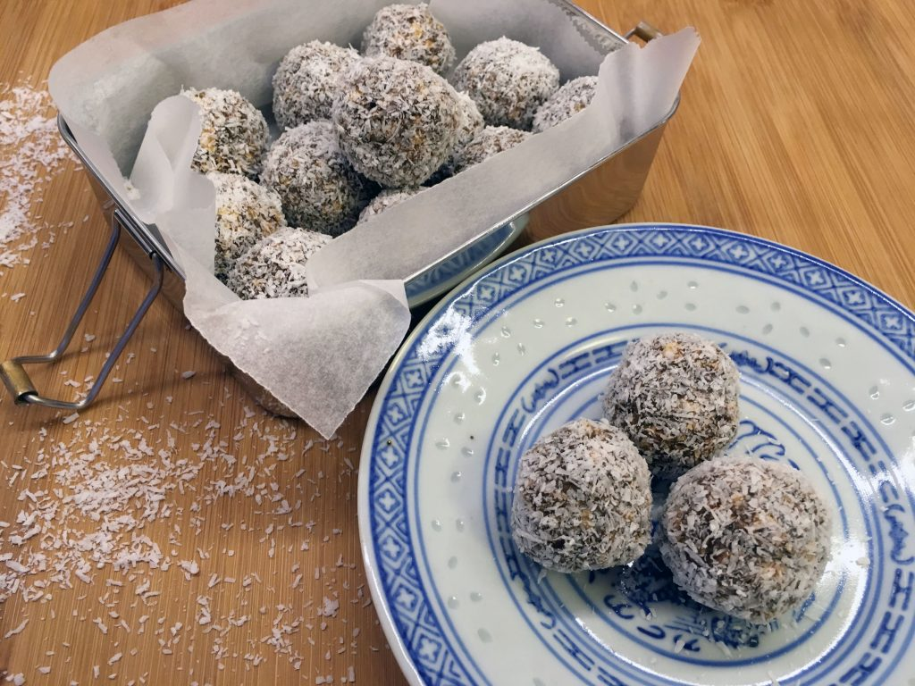 Salted Caramel Energy Balls - Histamine Friendly and so yummy :)