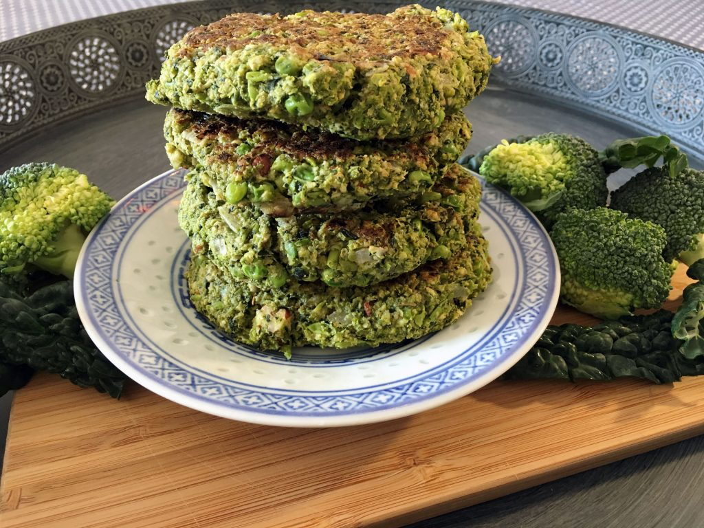 Vegan Broccoli Burger Patties - The Histamine Friendly Kitchen