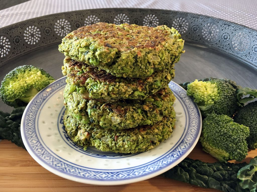 Vegan Broccoli Burger Patties - The Histamine Friendly Kitchen