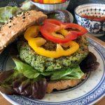 Vegan Broccoli Burger Patties