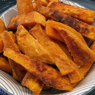 Oven Baked Crispy Sweet Potato Fries