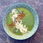 Mango and Moringa Smoothie Bowl
