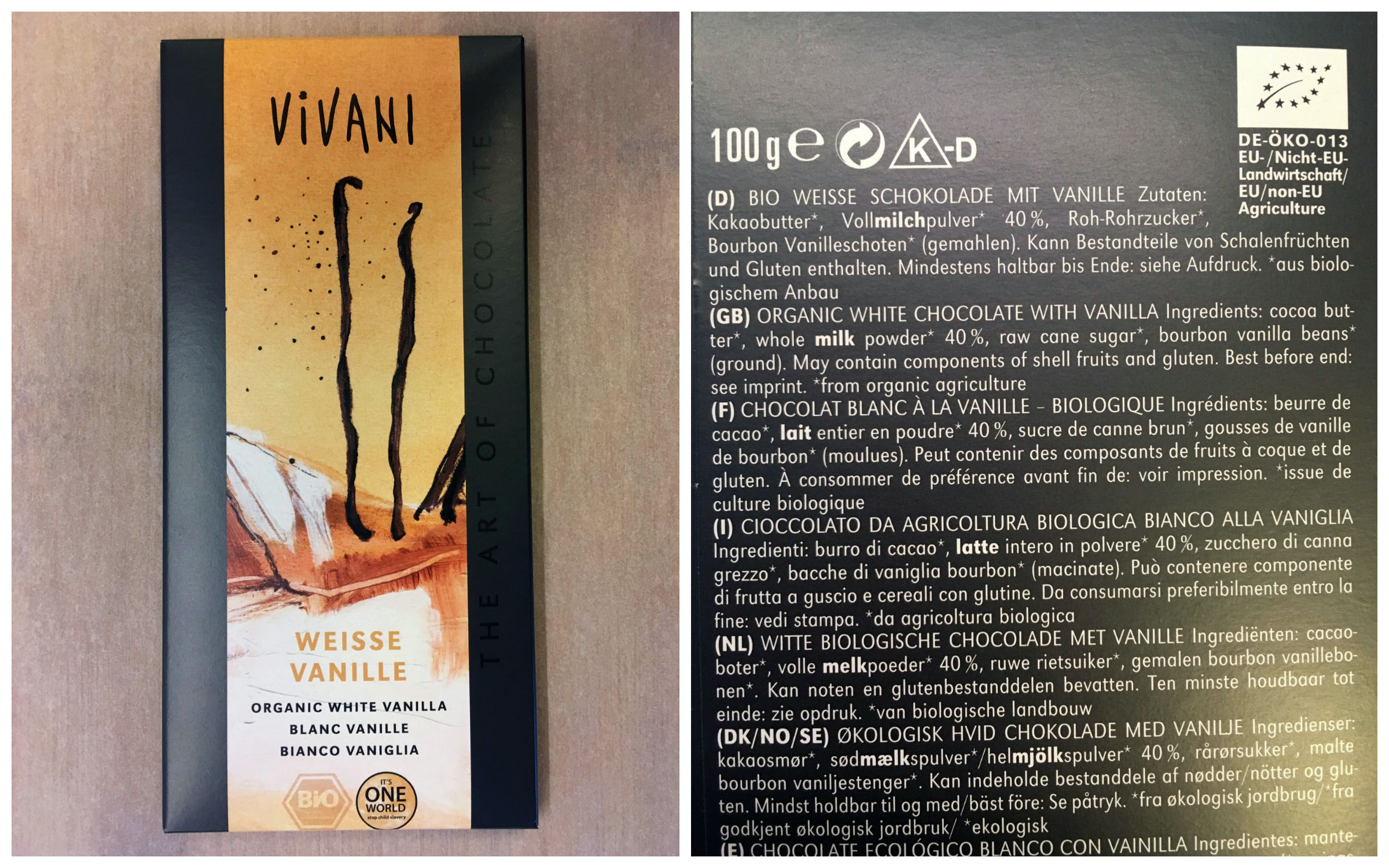 Vivani White Chocolate