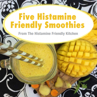 "Download your free copy of the ""Five Histamine Friendly Smoothies""eBook"