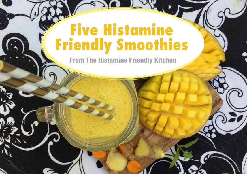 Sign up! And get my free eBook with 5 Histamine Friendly Smoothie recipes