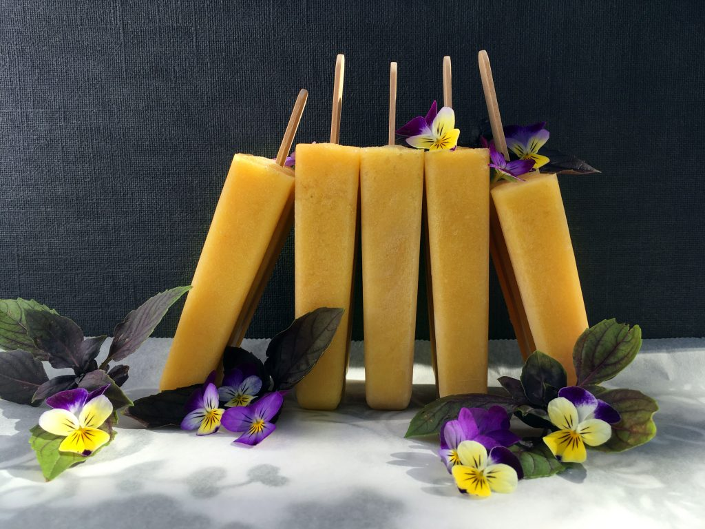 Mango Turmeric Popsicle's - The Histamine Friendly Kitchen
