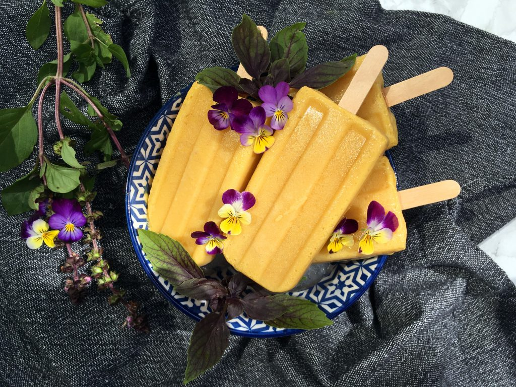 Mango Turmeric Popsicle's - The Histamine Friendly Kitchen