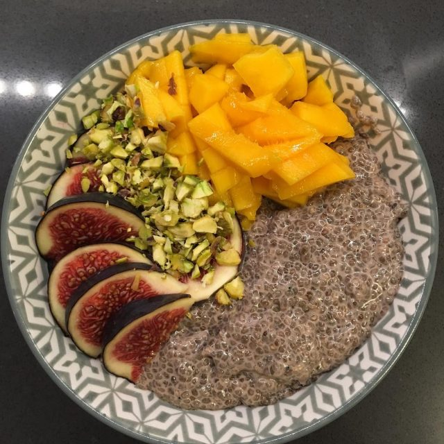 It is about time for another chia seed breakfast bowlhellip