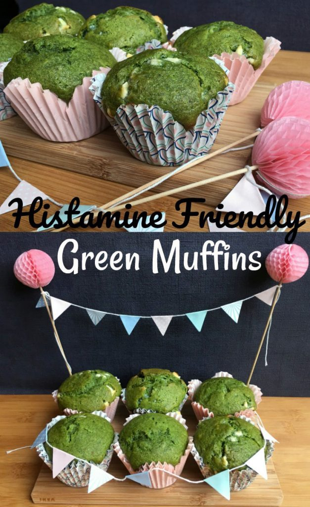 Naturally Green Histamine Friendly Muffins - No spinach added o/