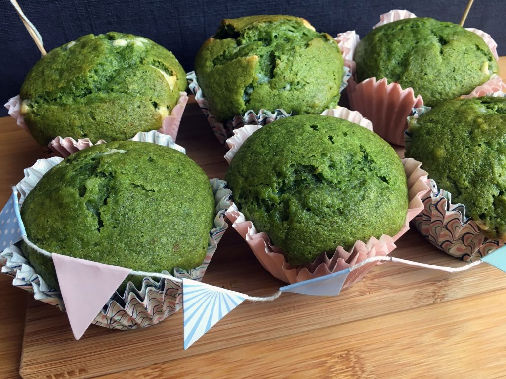 Yummy and Moist Naturally Green Histamine Friendly Muffins