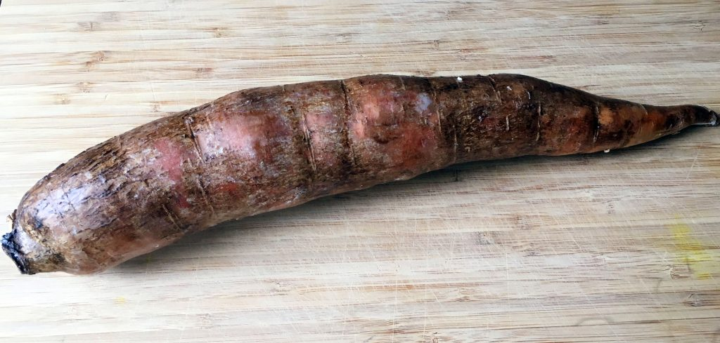 Cassava root - going to be turned into a grain free Cassava Pizza Crust