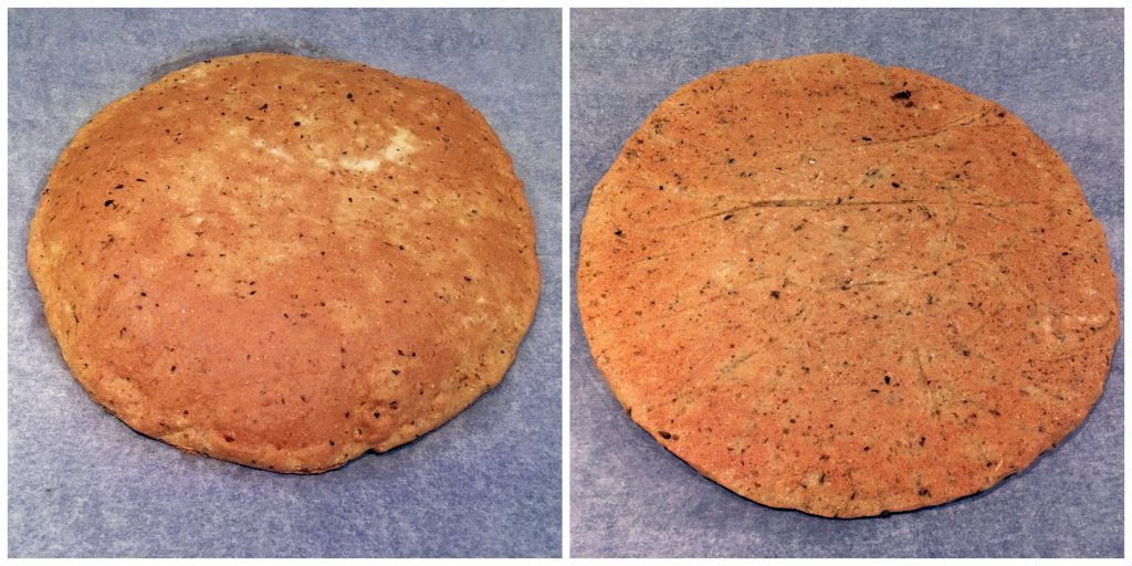 Low Histamine Cassava Pizza Crust - Grain Free