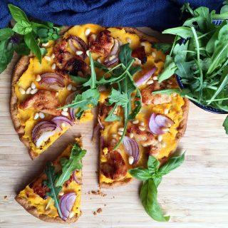 Histamine Friendly Pumpkin Pizza