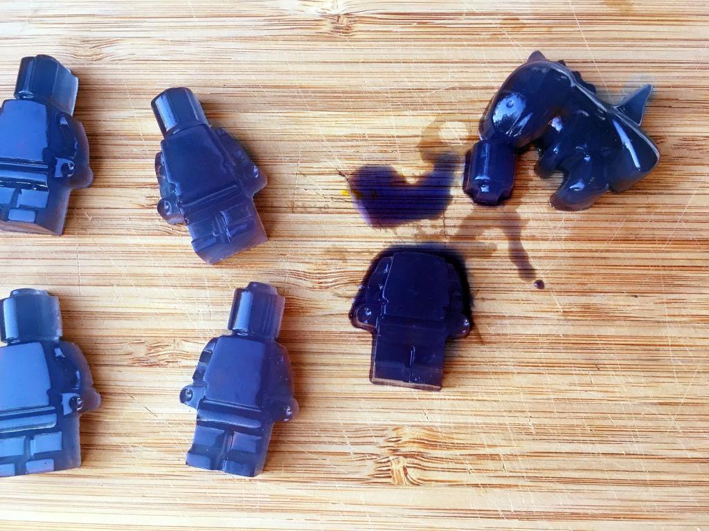 Natural Blue Homemade Gummies