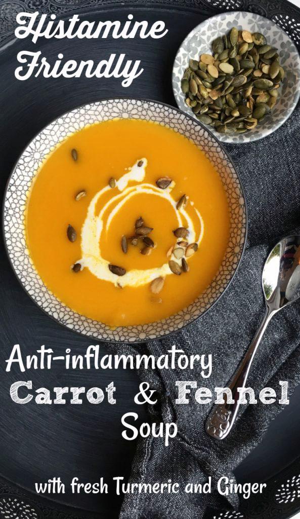 Anti-inflammatory Carrot & Fennel Soup - Pin Me \o/