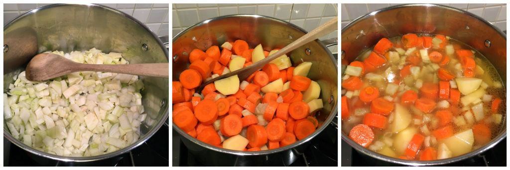 Anti-inflammatory Carrot & Fennel Soup in the making :)