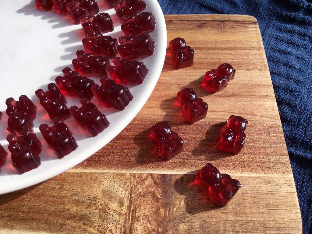Homemade Red Gummy Bears - Little Gut Healing Treats