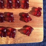 Homemade Red Gummy Bears - Little Gut Healing Treats