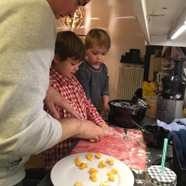 When gnocchi making becomes a family project  gnocchimaking familyhellip