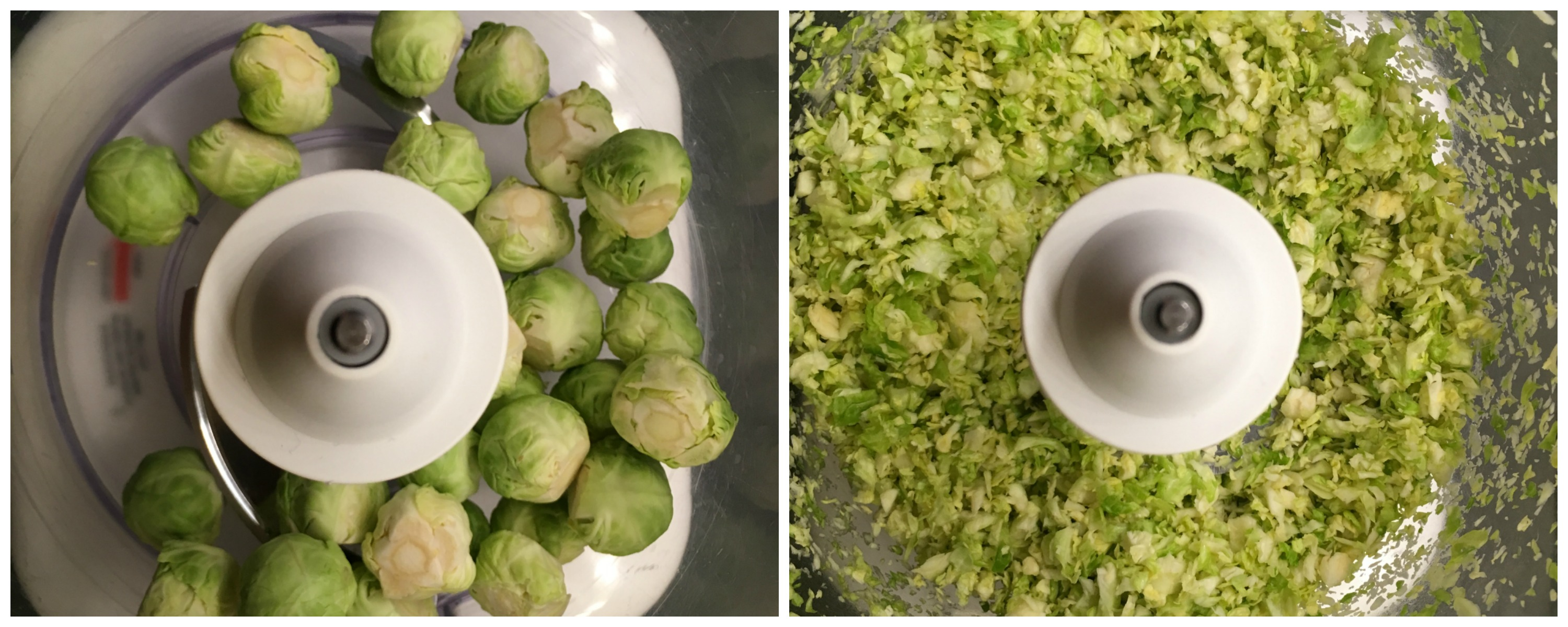 grated Brussels Sprouts