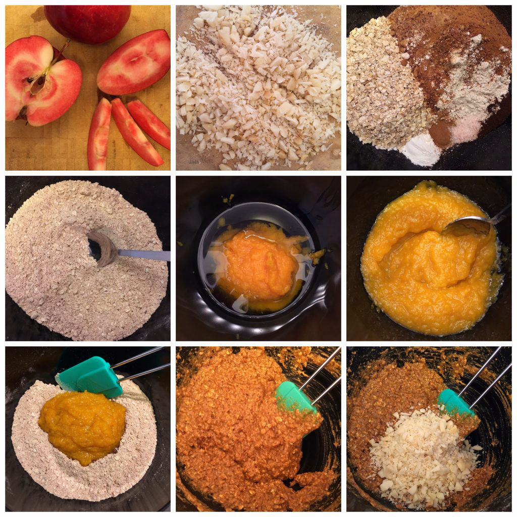 Gluten Free Quick and Simple Pumpkin Apple Cake - Step by Step