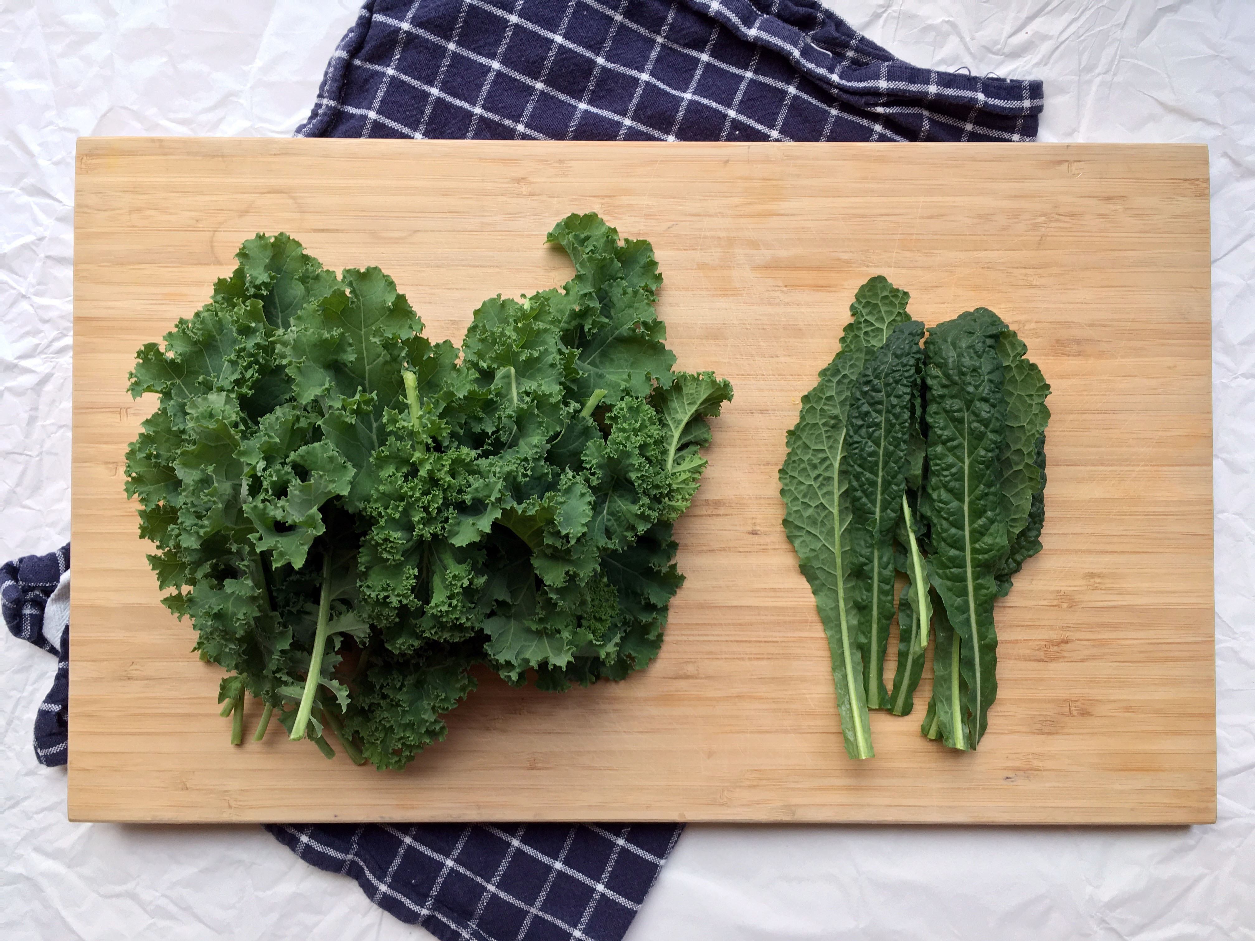 Kale and cavolo nero from my garden - The Histamine Friendly Kitchen