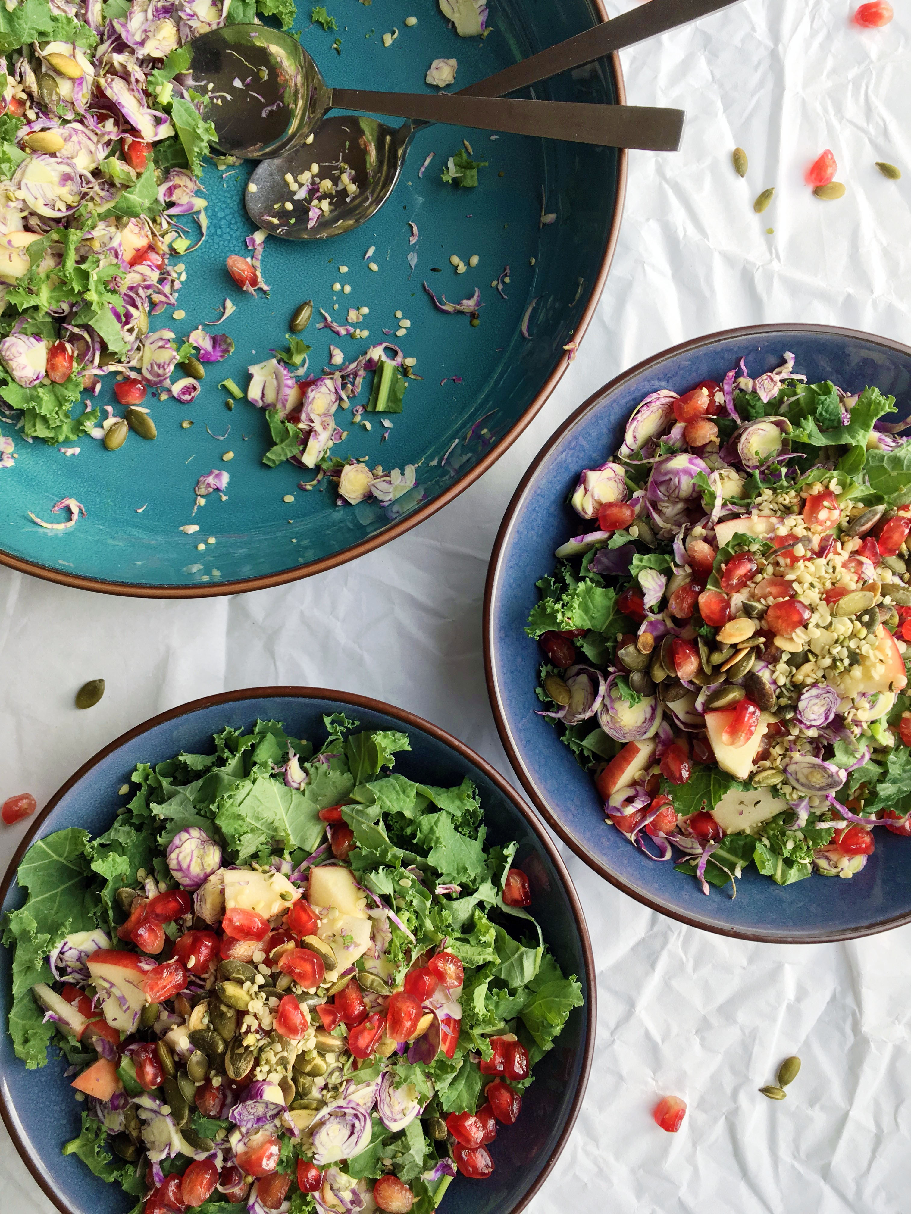 Low Histamine Brussels Sprout Salad