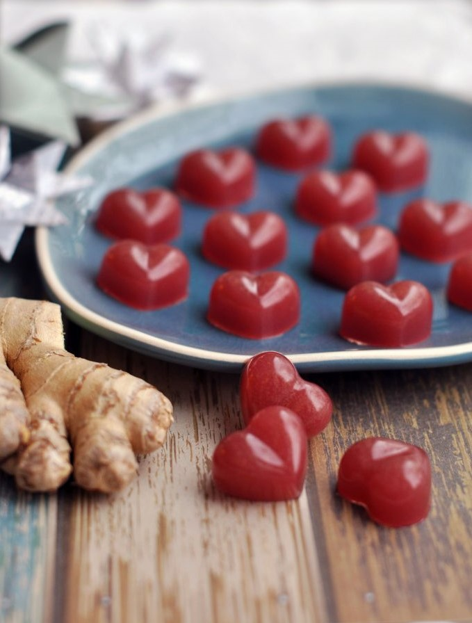 Anti-Inflammatory Ginger Wine Gums