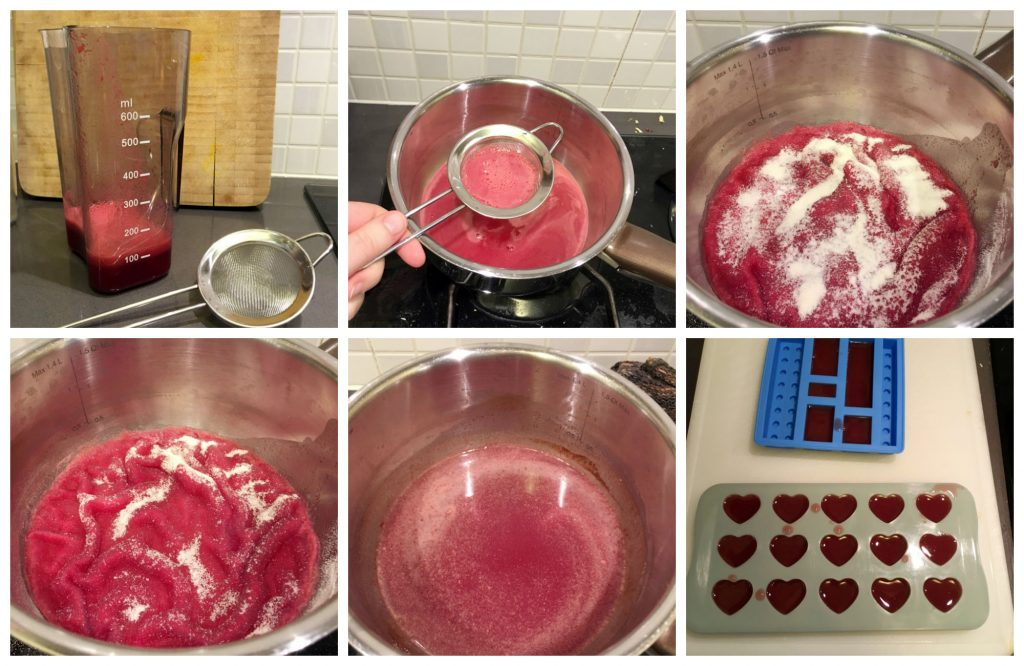 Anti-Inflammatory Ginger Wine Gums in the making! Picture tutorial