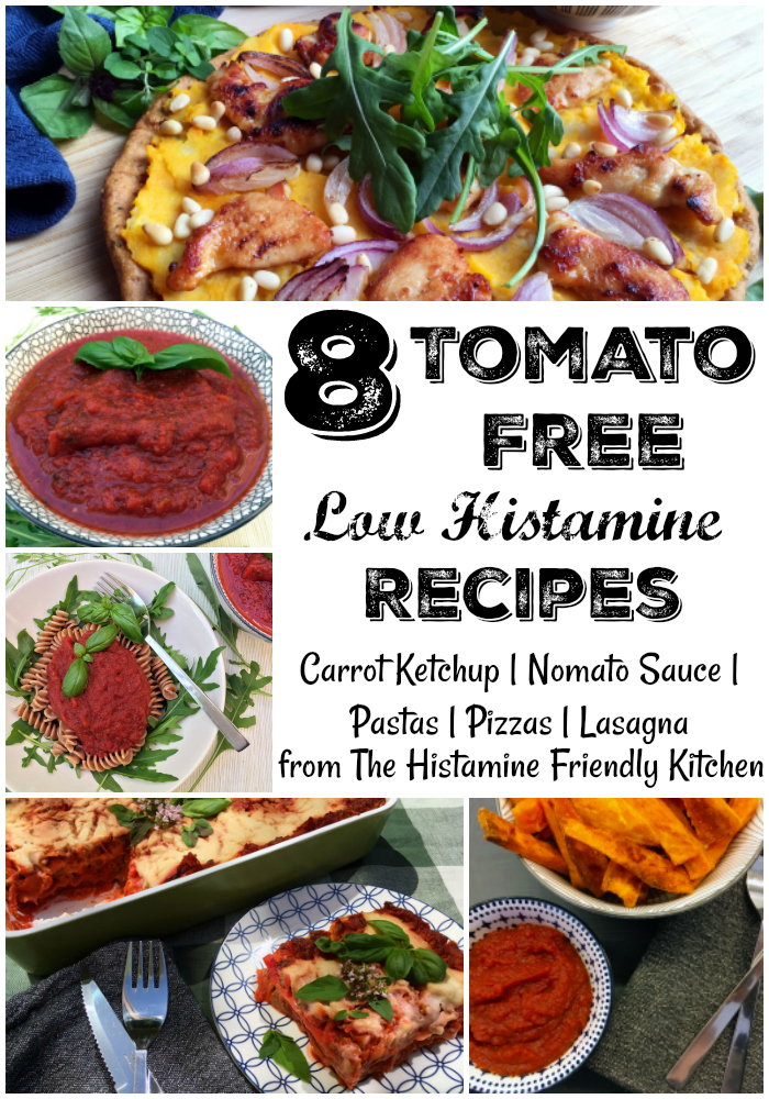 Tomato Free Low Histamine Recipes. Pin Me!