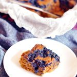 Histamine Friendly Vegan Blueberry Zucchini Cake