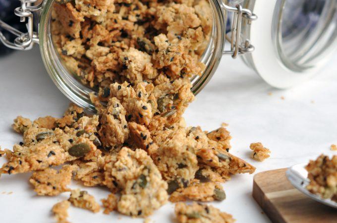 Vegan Salted Caramel Granola – gluten free