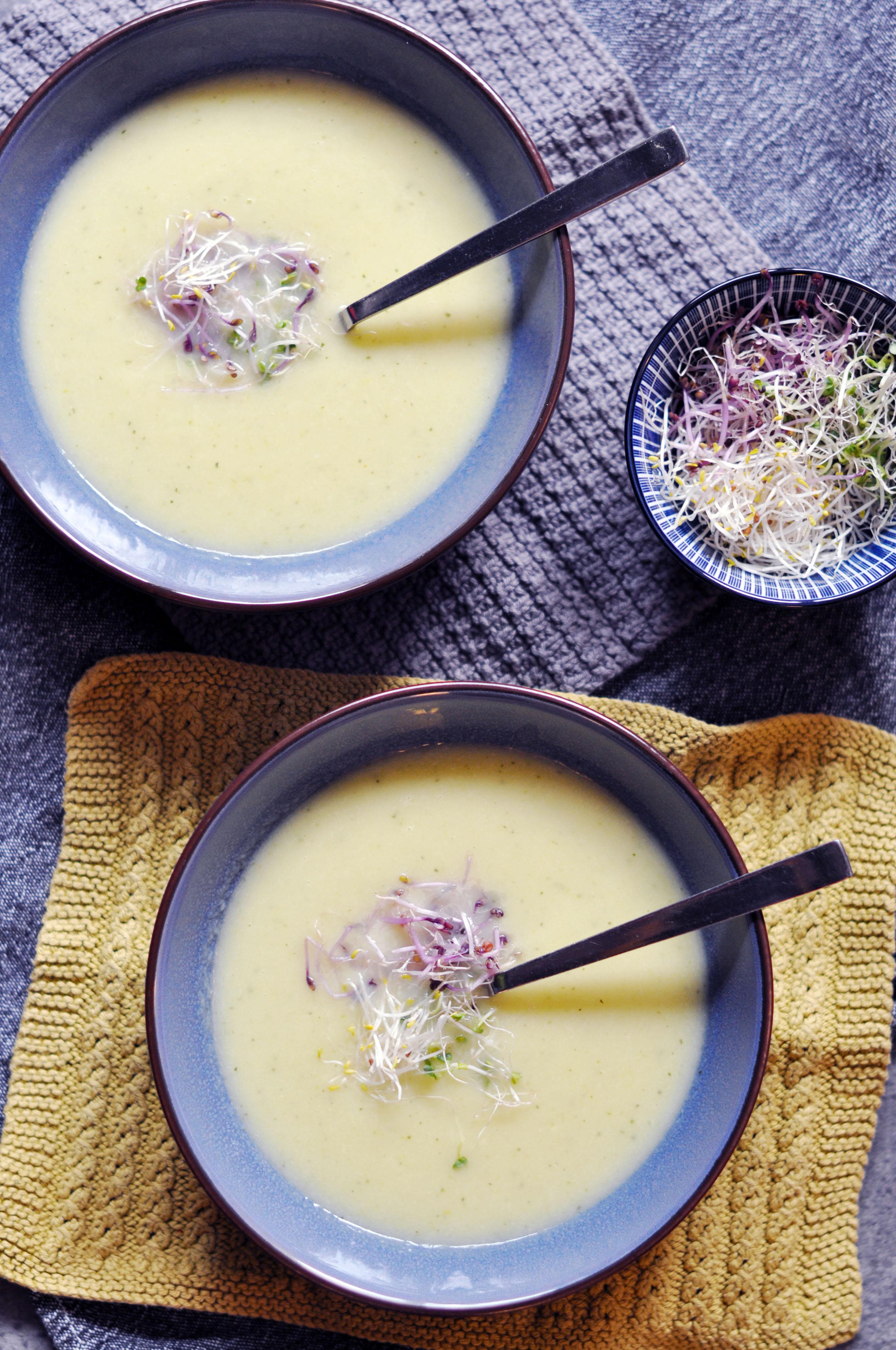 Low Histamine Asparagus Soup
