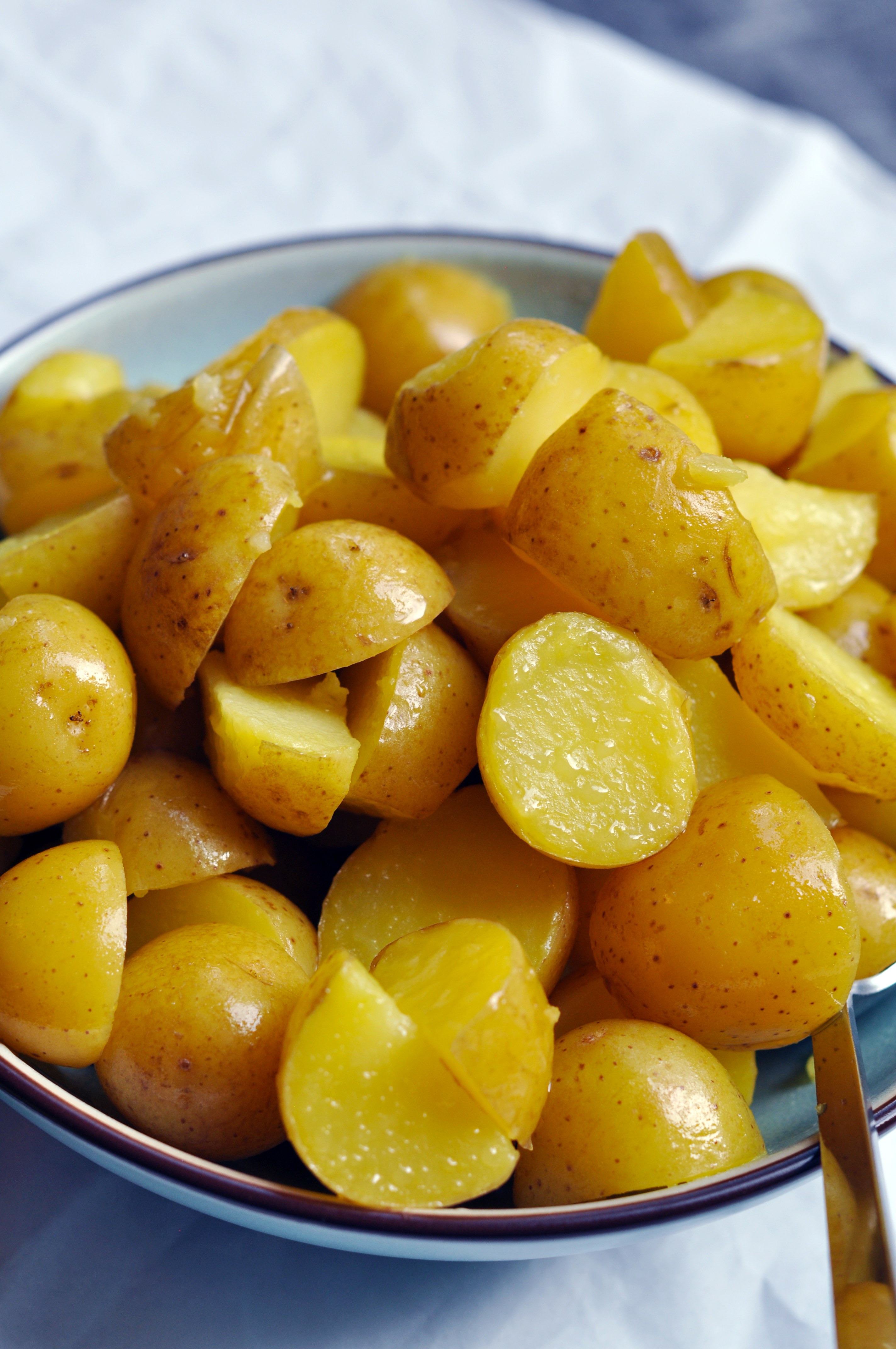 Potatoes with salted butter - ultimate comfort food
