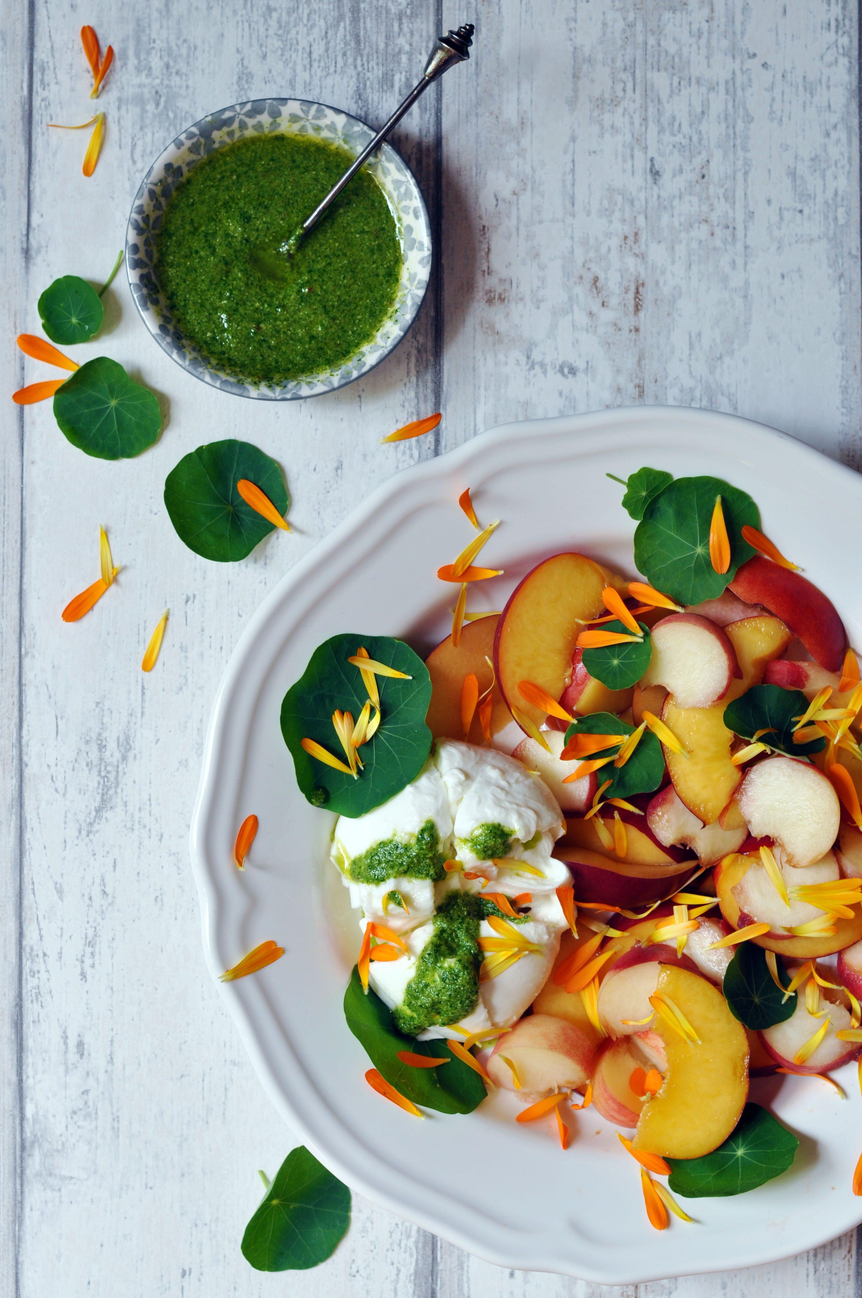 Low Histamine Stone Fruit Caprese Salad