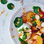 Low Histamine Stone Fruit Caprese Salad