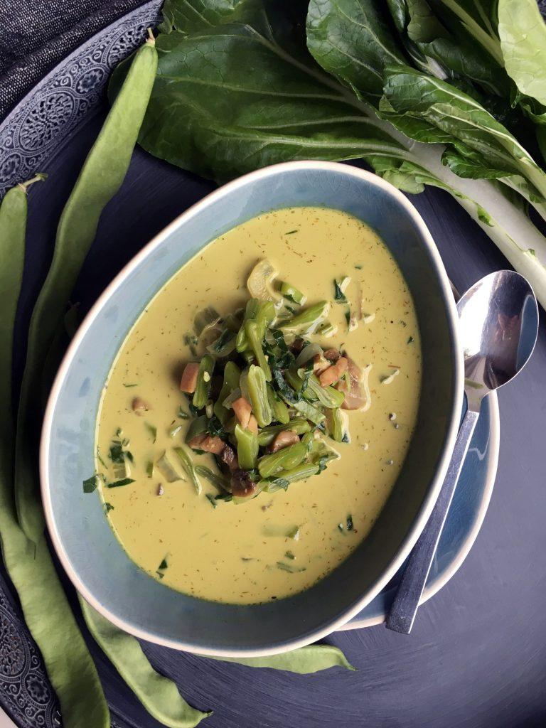 Anti-Inflammatory Coconut Soup