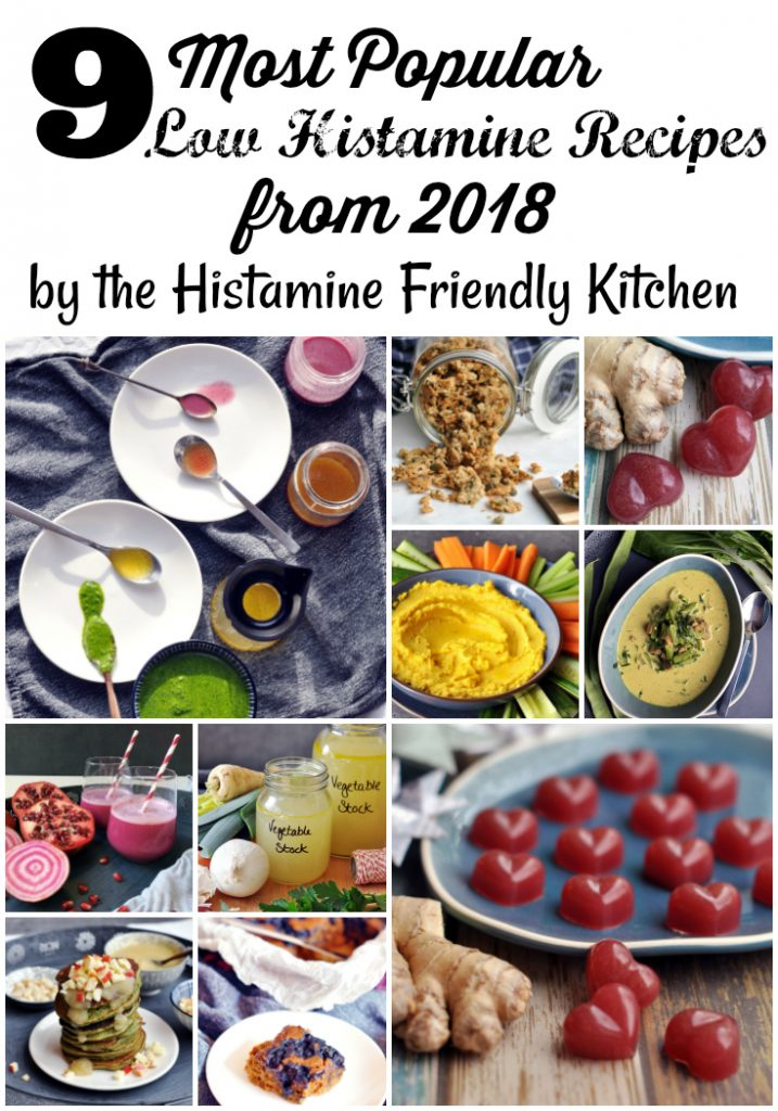 Most Popular Low Histamine Recipes from 2018