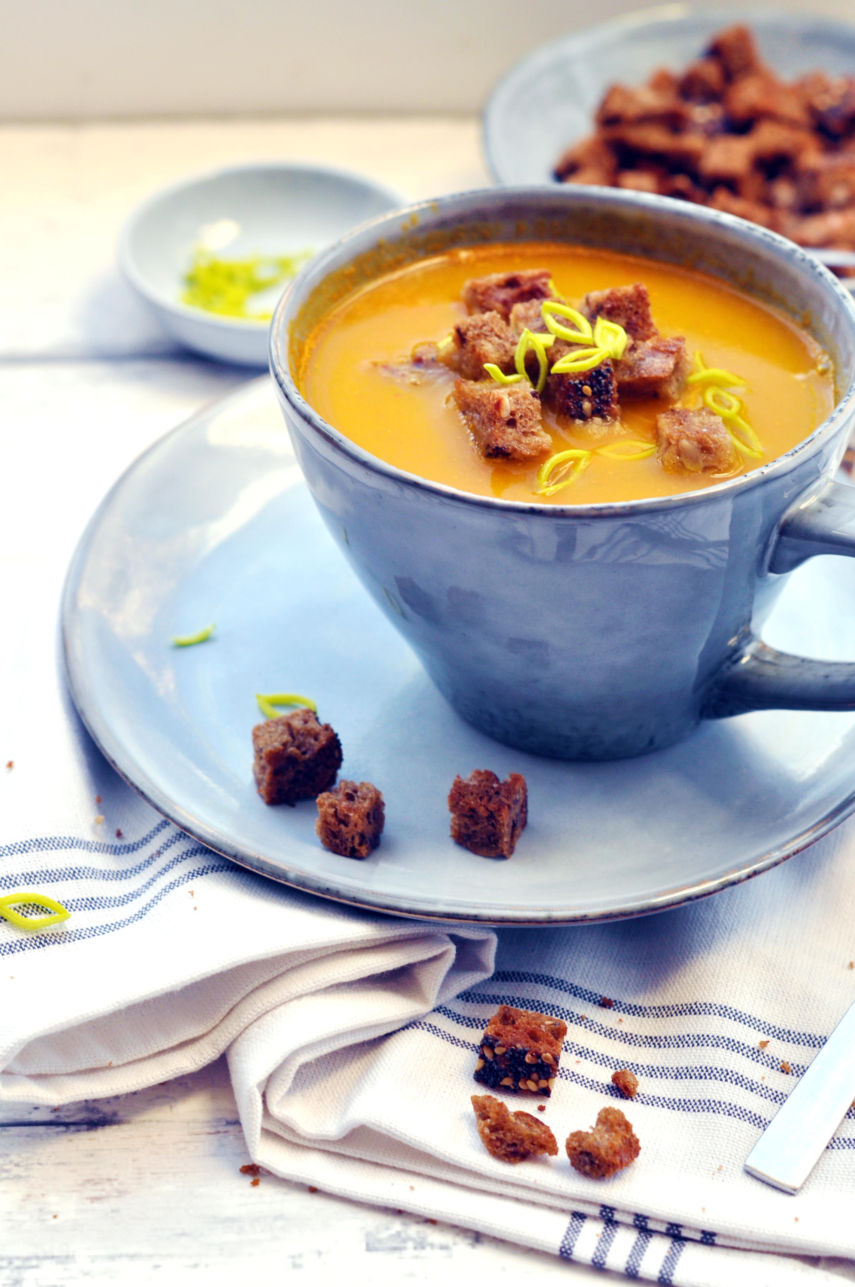 Histamine Friendly Pumpkin aand Bell Pepper Soup