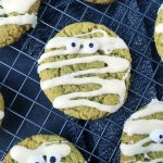 Histamine Friendly Green Halloween Mummy Cookies